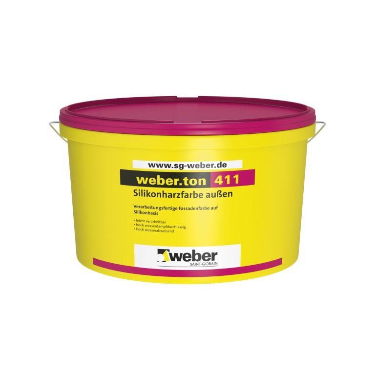 Weberi silikoonvaikvärv fassaadidele