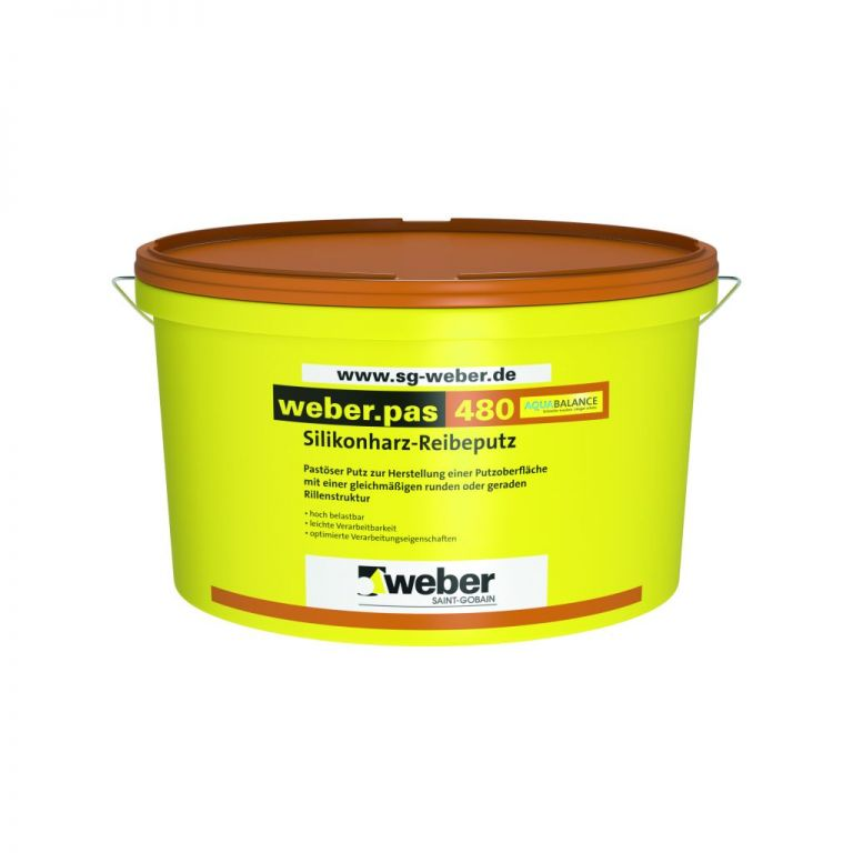 Weber Ühekomponentne fassaadi silikoonvaikkrohv